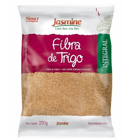 Fibra de Trigo Integral 250g - Jasmine