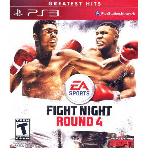 Fight Night Round 4 Greatest Hits - PS3