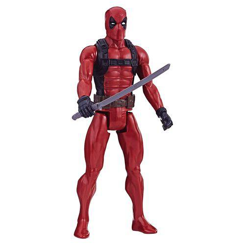 Figura Articulada - 30 Cm - Marvel - Deadpool - Hasbro