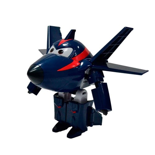Figura Aviao Super Wings - Agent Chace