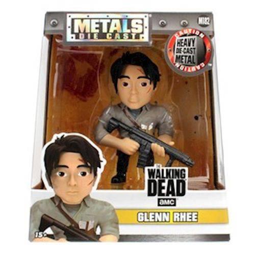 Figura Colecionável 10 Cm Metals The Walking Dead Glenn Rhee Dtc