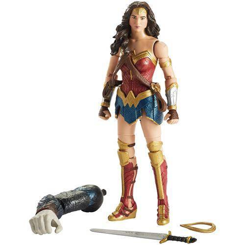 Figura de Ação - 15 Cm - Dc Comics - Mulher Maravilha - Mattel