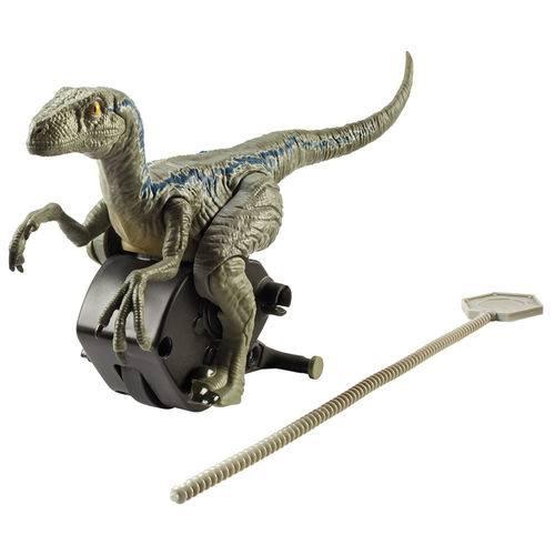 Figura - Jurassic World 2 - Rip Run - Chaser - Velociraptor Blue - Mattel