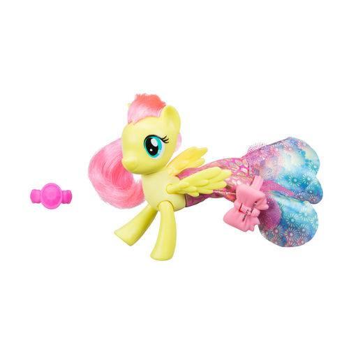 Figura My Little Pony Movie - 15 Cm - Moda Terrestre e Marinha - Fluttershy - Hasbro