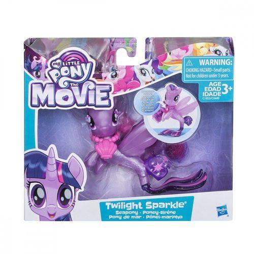 Figura My Little Pony Ponei Marinho Twilight Sparkle C1823 - Hasbro