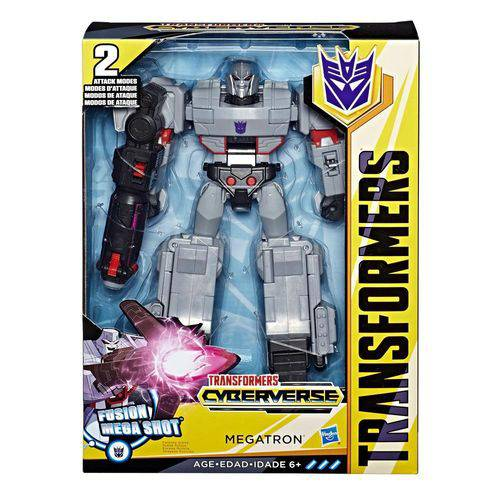 Figura Transformável - Transformers - Cyberverse - Megatron - Hasbro