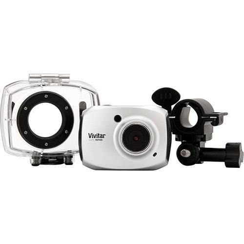 Filmadora Digital Esportiva FULL HD Vivitar 12,1MP Prata
