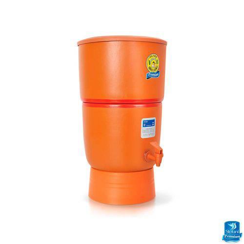 Filtro de Água de Barro Purificador Premium São João 2 Velas - 6 Litros