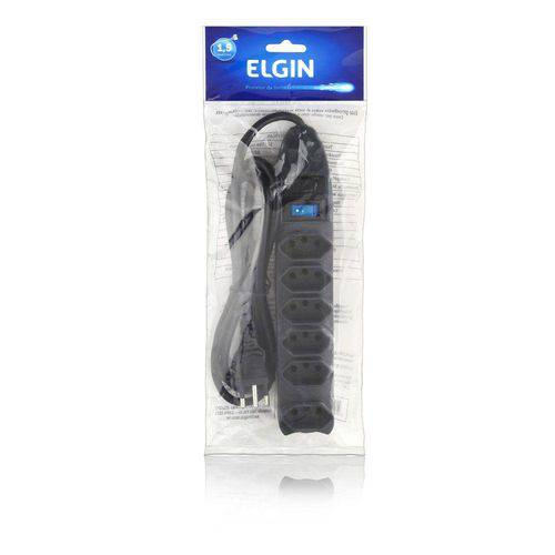 Filtro de Linha 6 Tomadas Elgin - 1,5m