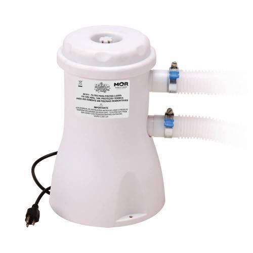 Filtro para Piscina 2200l/h 110V Mor