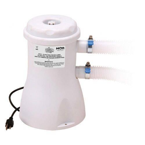Filtro para Piscina Vazão 2.200L/h 110V - 001511 - MOR