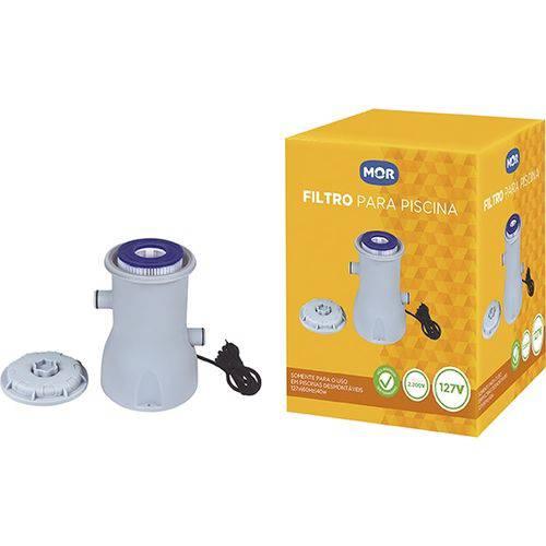 Filtro para Piscina Vazão 2.200l/h - 110v - Mor - 1511