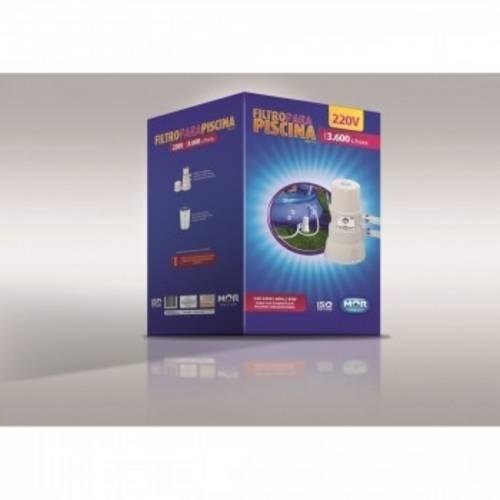 Filtro para Piscina Vazão 3.600 Litros/Hora 220 V