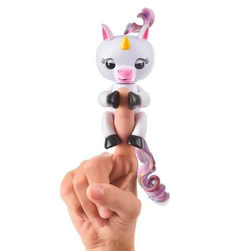 Fingerlings Figura Colecionável Unicórnio Gigi - Candide