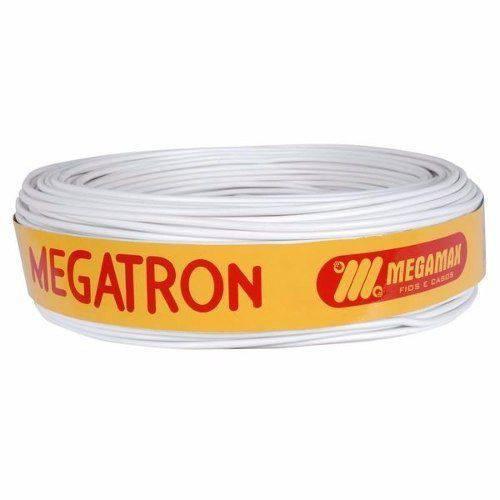 Fio Cabo Flexível Cobre 2,5mm Rolo 100m Branco - Megatron