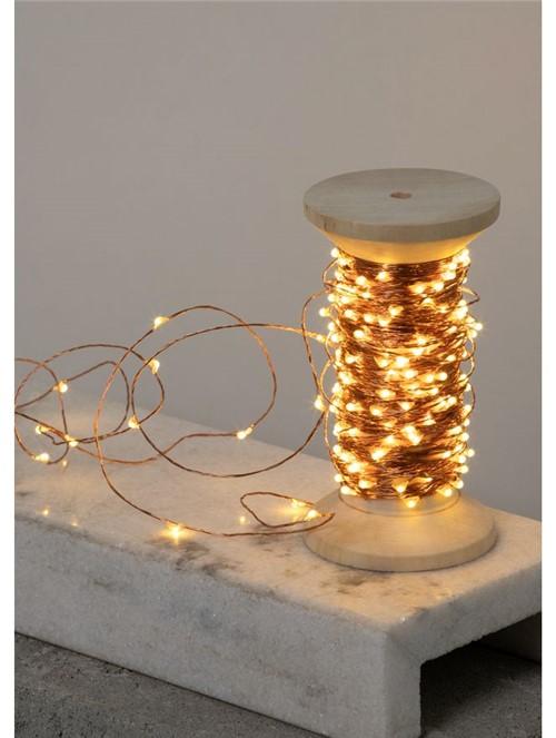 Fio de Cobre com Lâmpadas de Led 20m Cobre Fio de Cobre com Lâmpadas de Led 20 M Cobre