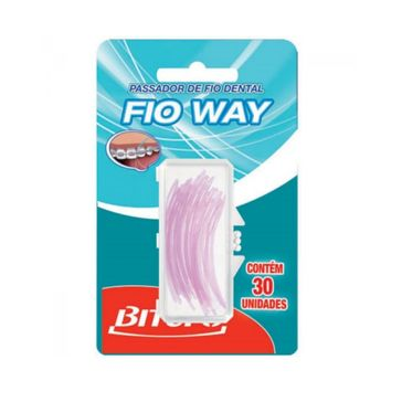 Fio Dental Bitufo Way 30 Unidades