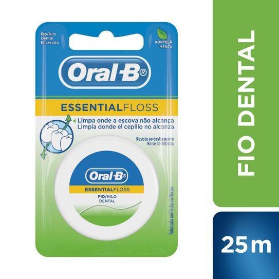 Fio Dental Oral-B Essential Floss Hortelã/menta 25m