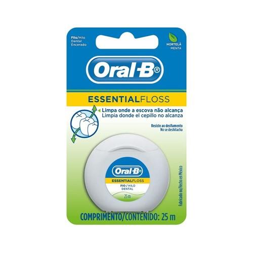Fio Dental Oral-B Essential Floss Menta