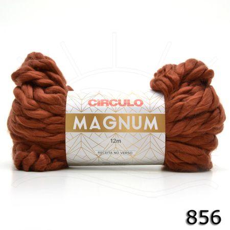 Fio Magnum 200g 856 Marrom Médio