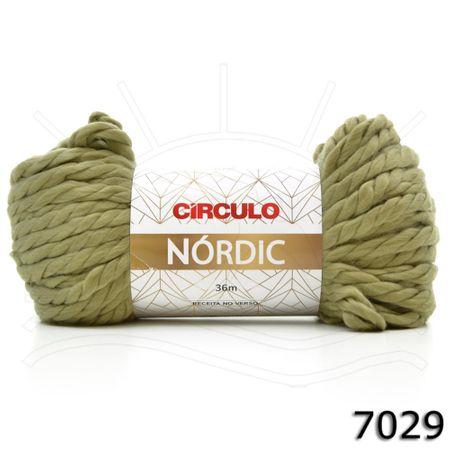 Fio Nórdic 200g 7029 Caqui