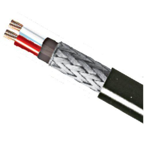 Fio Sonoriza 1P 22AWG Microfone Preto KMP/RFS