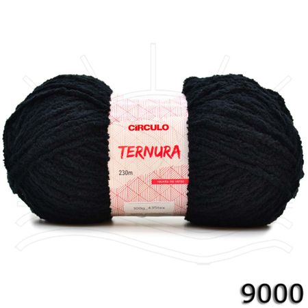 Fio Ternura Círculo 100g 9000 - Preto
