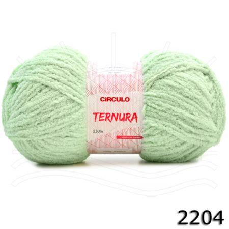 Fio Ternura Círculo 100g - Candy Colors 2204 - Verde
