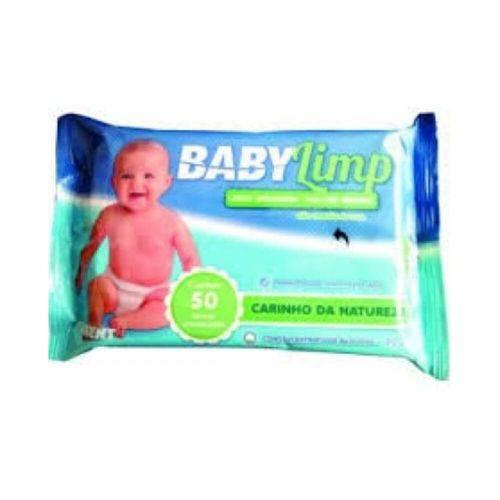 Fiodent Babylimp Toalhas Umedecidas Premium Carinho da Natureza C/50