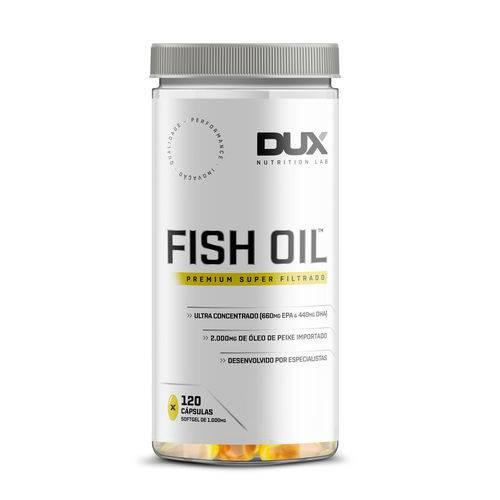 Fish Oil - Pote 120 Cápsulas - Dux Nutrition