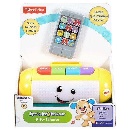 Fisher Price Aprender e Brincar Alto Falante - Mattel