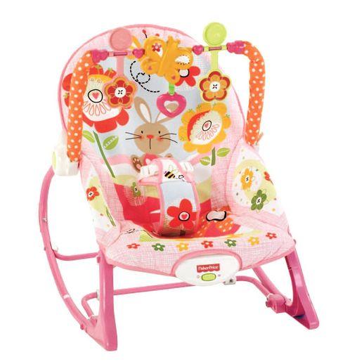Fisher-Price Cadeirinha de Balanço Minha Infância Meninas - Mattel