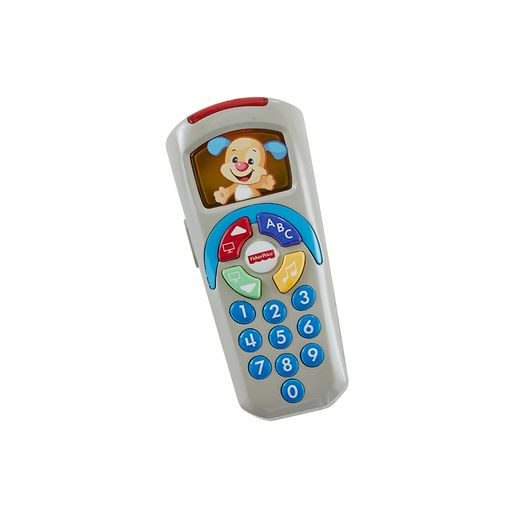 Fisher Price Controle Remoto Aprender e Brincar Azul - Mattel