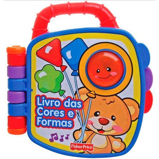 Fisher Price Livrinho Aprendendo e Brincando Cores e Formas - Mattel