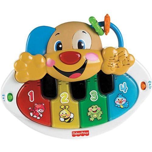 Fisher Price - Piano Cachorrinho Aprender e Brincar Y9853 Mattel