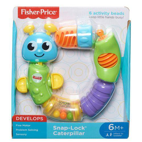 Fisher Price Snap Lock Caterpillar