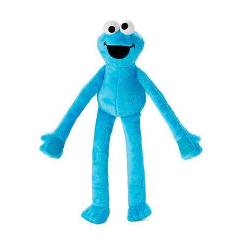 Fisher Price Vila Sésamo Pelucia Super Abraço Cookie Monster Come Come - Mattel