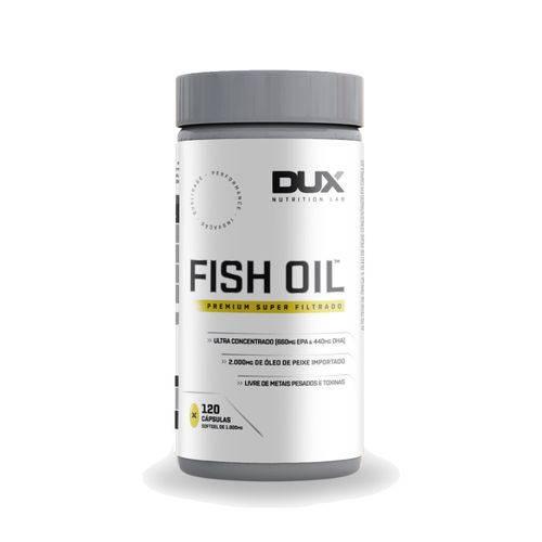 Fishi Oil - 120 Caps - Dux Nutrition Labs