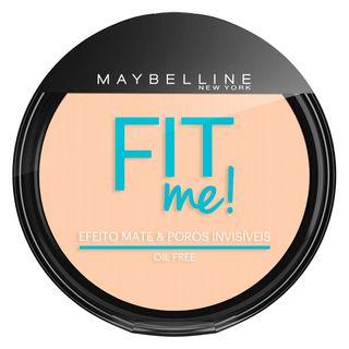 Fit Me! Maybelline - Pó Compacto para Peles Clara 100 - Claro Sutil