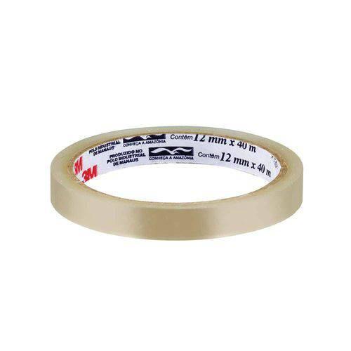 Fita Adesiva 12mm X 40m Durex 3m