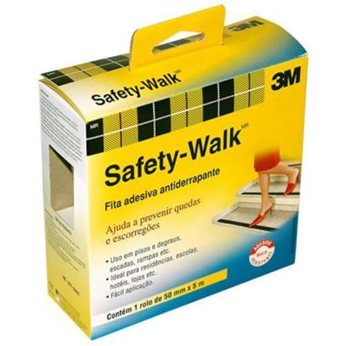Fita Adesiva Antiderrapante 50mm X 5m Safety Walk Preto 3m