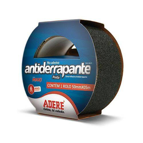 Fita Adesiva Antiderrapante 50x05 Preto
