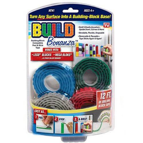 Fita Adesiva LEGO Build Bonanza - Decor Design Criativo Arte