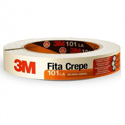 Fita Adesiva 3M 18X50 Crepe Cod. 101la
