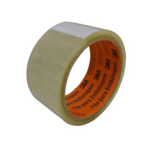 Fita Adesiva para Embalagem Transparente 3M 45mm X 45m