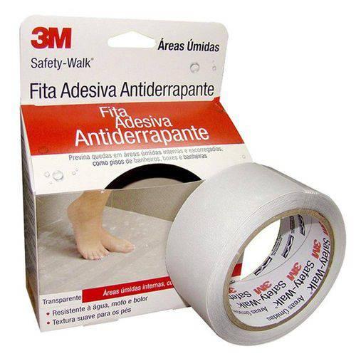 Fita Antiderrapante Box PVC Transparente 5cmx5m 3m