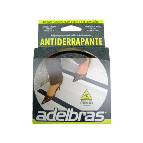Fita Antiderrapante Preta 50x5 Preta Adelbras 1011537