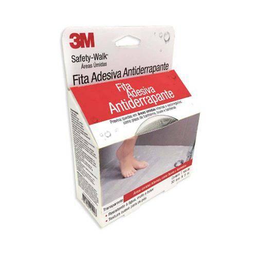 Fita Antiderrapante Safety Walk 50mm X 5 Metros Transparente 3m