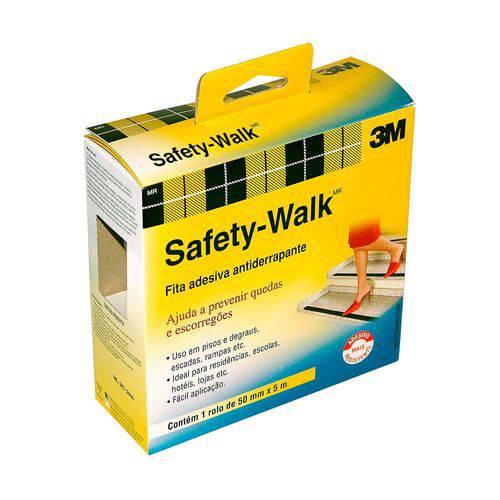 Fita Antiderrapante Safety-walk Transparente 50mm X 5m 3m