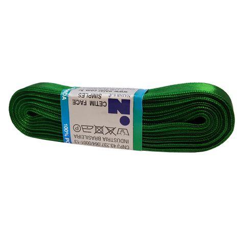 Fita Cetim No3 Verde Bandeira Cor 23 10m - Najar
